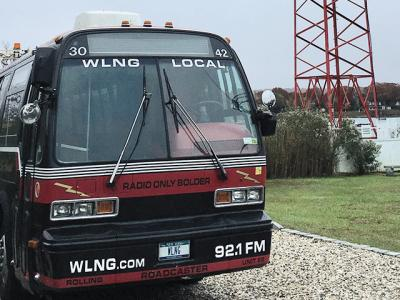 "The sale of WLNG 92.1 FM could be completed by mid-December, but features like the Rolling Roadcaster remote broadcasting bus that boasts the slogan ""Radio, Only Bolder"" are expected to endure."