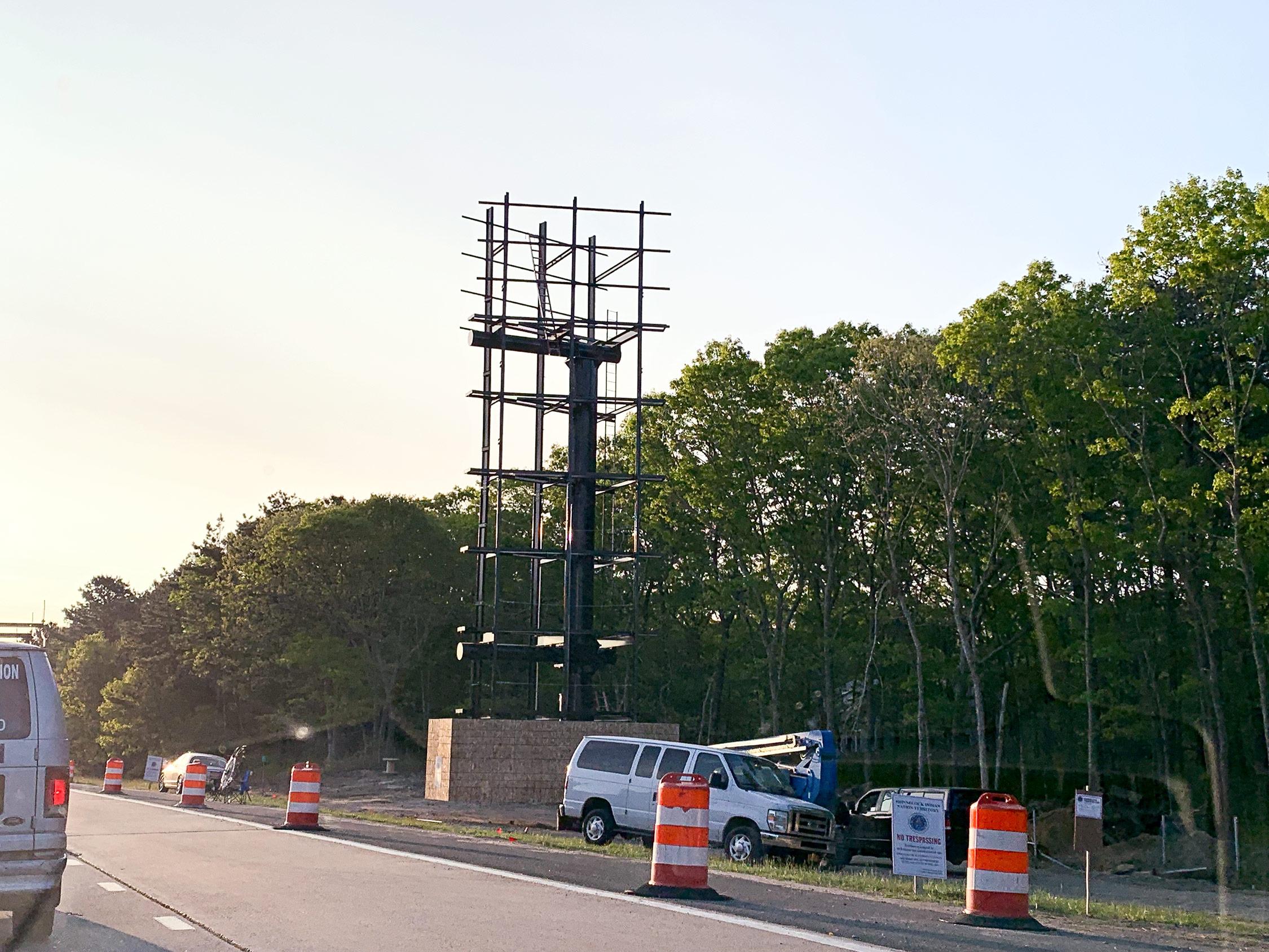 Battle Over Shinnecocks' Mega Billboards | The East Hampton Star