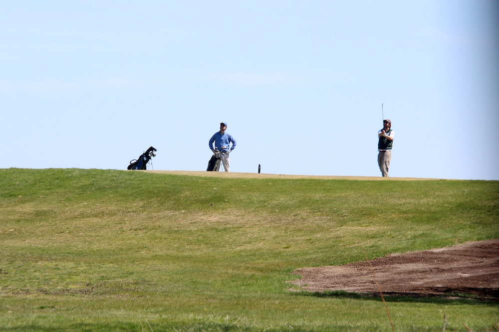 GALLERY: Fox Bend reopens to eager golfers in Oswego