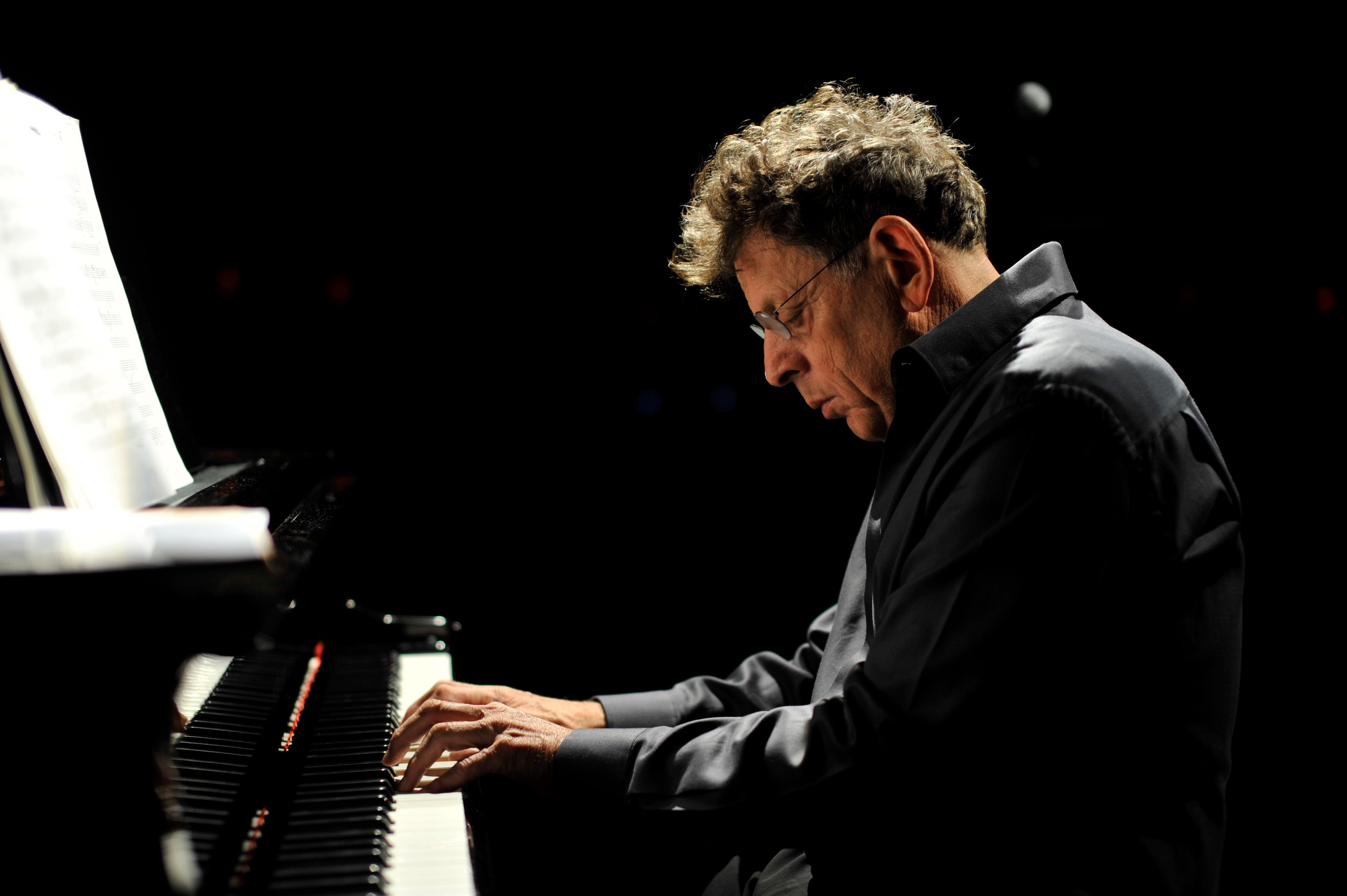 Philip Glass    Photo: Fernando Aceves.