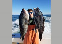The black sea bass season finally opened on Sunday for New York State anglers.