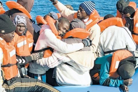 The Sea Watch 3 rescued 47 migrants off the coast of Libya on Jan. 19